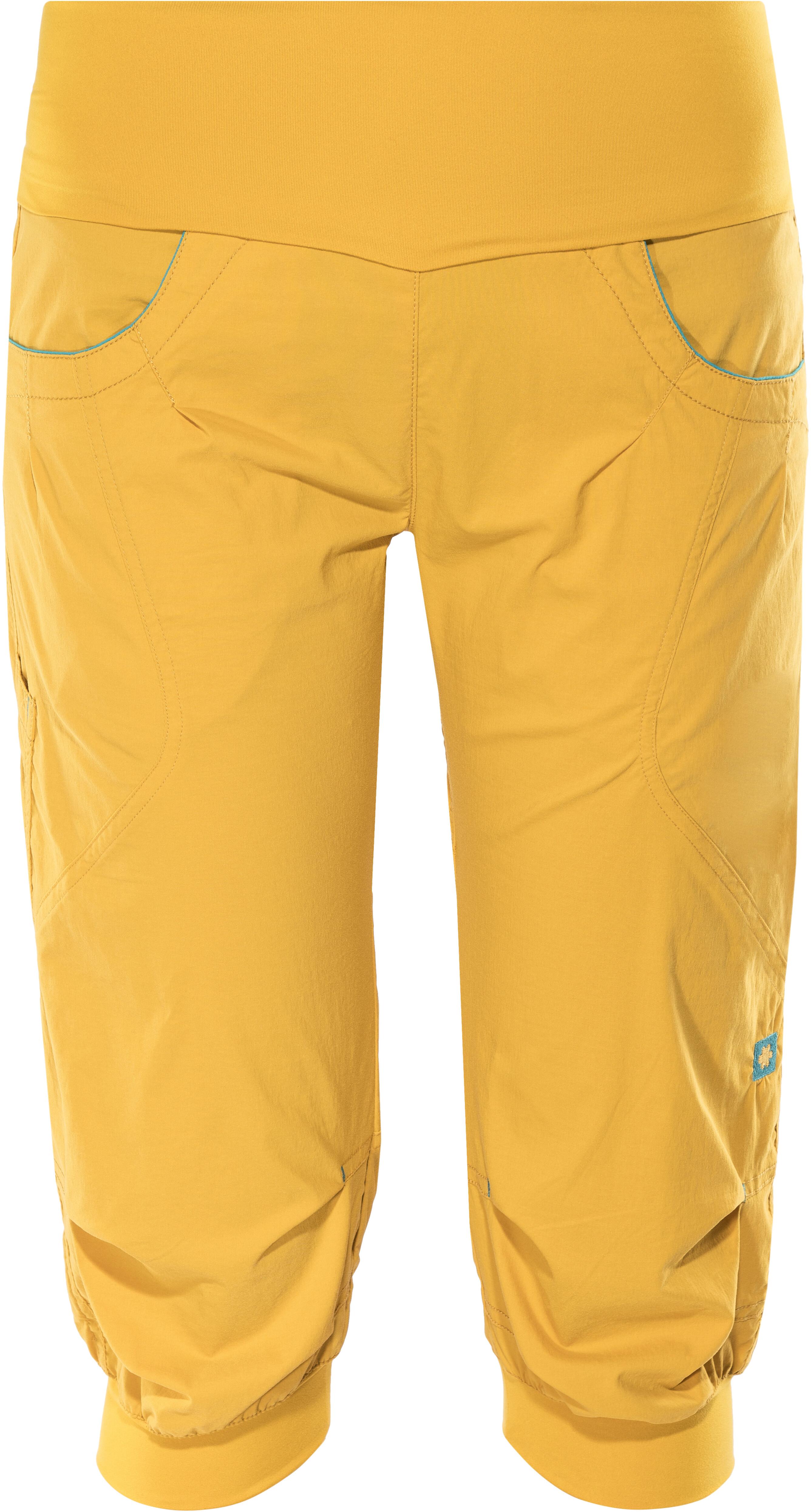 Ocun Noya - Pantalones cortos Mujer - amarillo  1ec074c45ae9